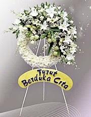 Bunga Krans Duka Cita Bintang Florist