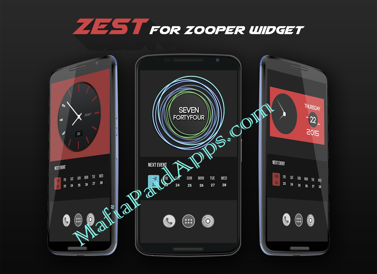Zest For Zooper Widget v1 03 Apk | MafiaPaidApps com | Download Full