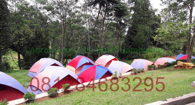 Lokasi Berkemah Murah di Wana Wisata Bukit Hambalang Sentul