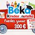 Nutella y Kinder regalan 300€