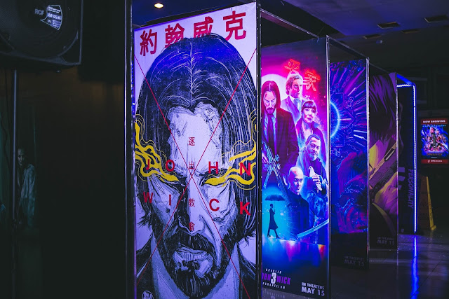 JOHN WICK CHAPTER 3 - PARABELLUM Invades SM Cinema Megamall Lobby from May 11-19, 2019