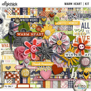 Warm Heart by Akizo Designs