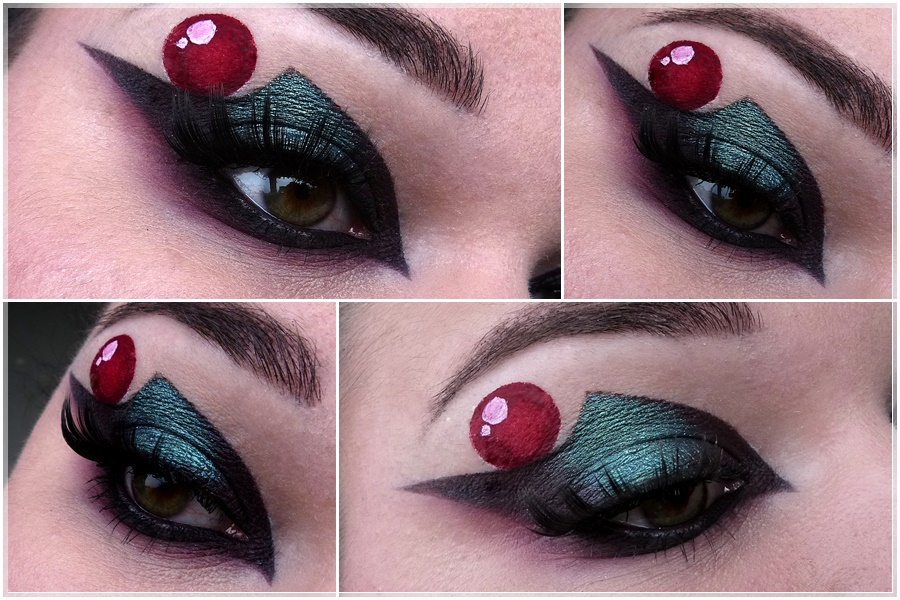 Sailor Pluto eye make up