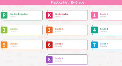 Practice Math Games by Grade and Skill