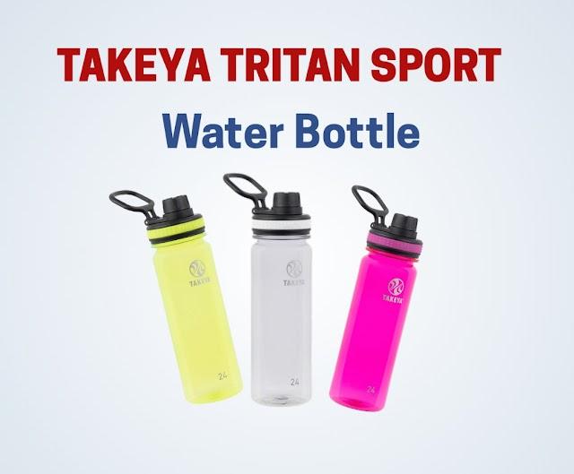 Takeya Tritan Sports Water Bottle for fitness freak