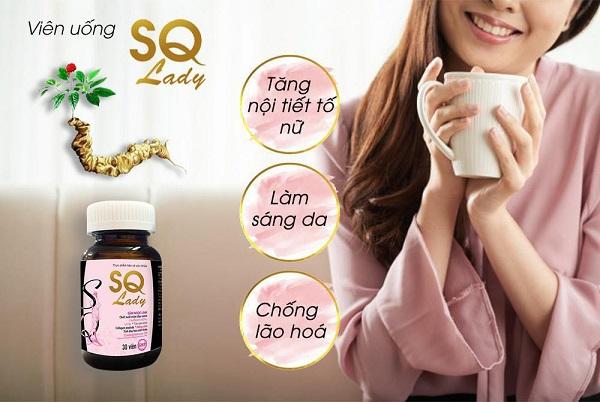Sq lady tăng cường nội tiết