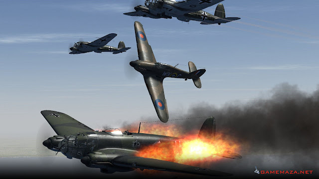 IL 2 Sturmovik Cliffs of Dover Gameplay Screenshot 3