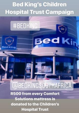 Bed King exterior shop in Roodepoort
