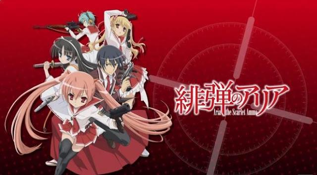 Hidan no Aria - Anime Action Romance Harem Terbaik