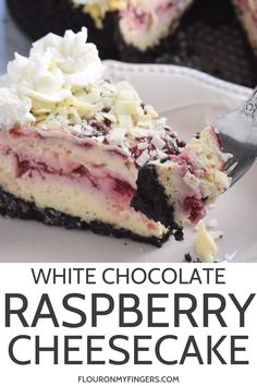 BEST OLIVE GARDEN WHITE CHOCOLATE RASPBERRY CHEESECAKE