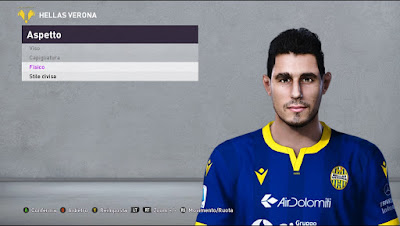 PES 2020 Faces Davide Faroni by Andò12345