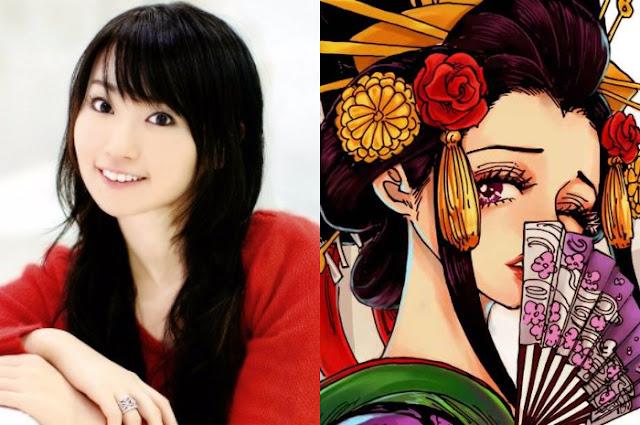 Nana Mizuki, Pengisi Suara Hinata, akan Mengisi Suara Komurasaki di Anime One Piece