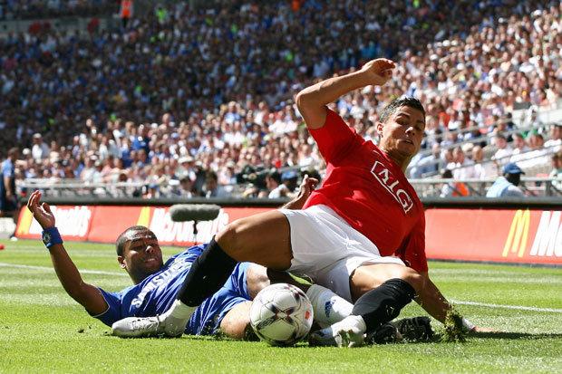 Cristiano Ronaldo revela que Ashley Cole es el más duro