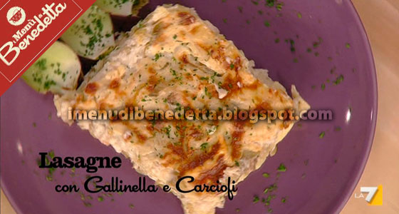 Lasagne Con Gallinella E Carciofi La Ricetta Di Benedetta Parodi
