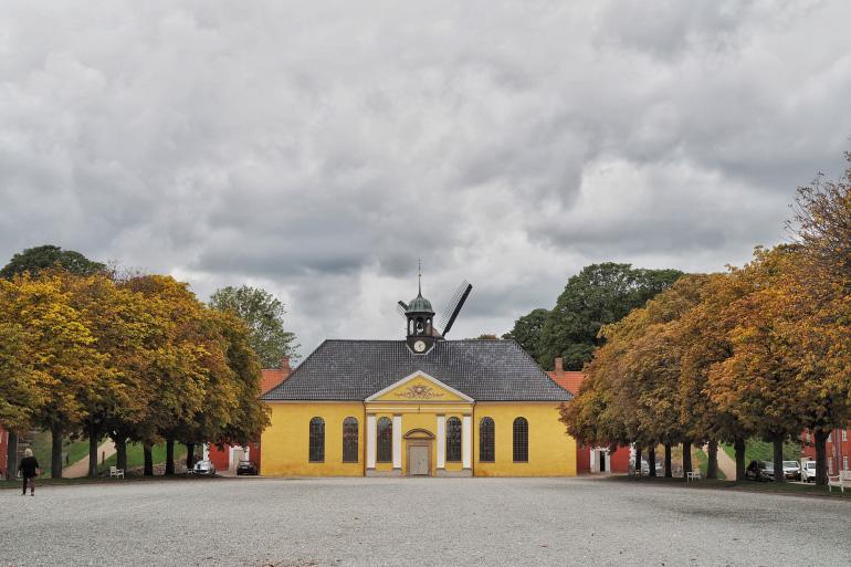 Promenade dans le kastellet, la citadelle de Copenhague