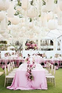 decorazione fai da te per la sala per matrimonio con lanterne cinesi