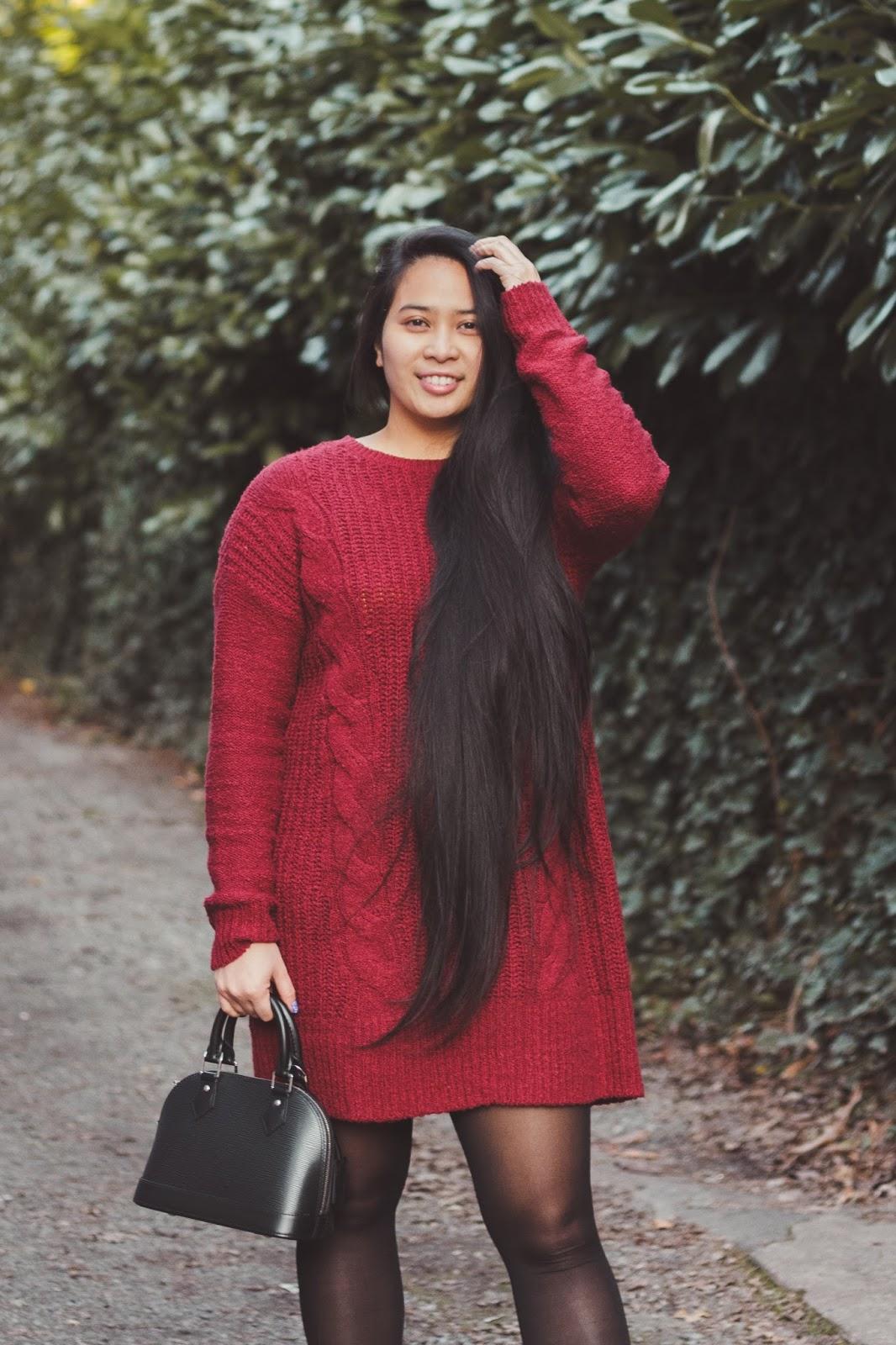 target alma bb sweater dress holidays