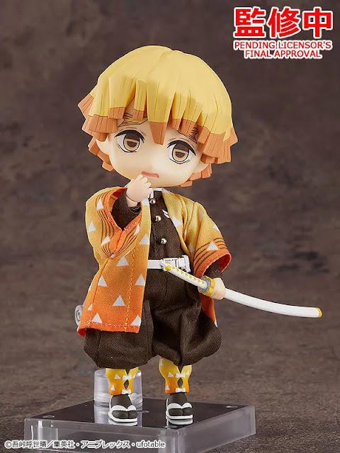 Demon Slayer: Kimetsu no Yaiba Nendoroid Doll Zenitsu Agatsuma