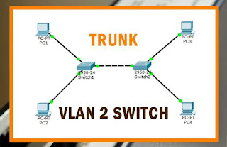 Cara Membuat VLAN Switchport Trunking di Cisco Packet Tracer