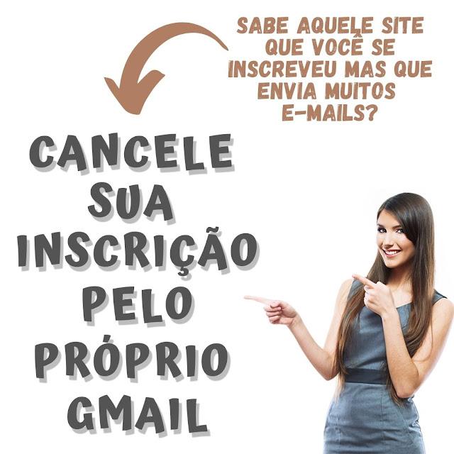 Cancele a subscrição de e-mails indesejados