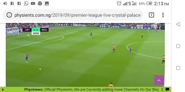 ⚽️⚽️⚽️ Premier League  Live Crystal Palace Vs Wolves  ⚽️⚽️⚽️