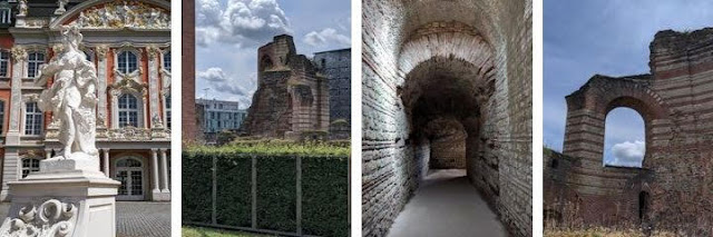 Day trips from Luxembourg City: Electoral Palace and Kaiserthermen in Trier