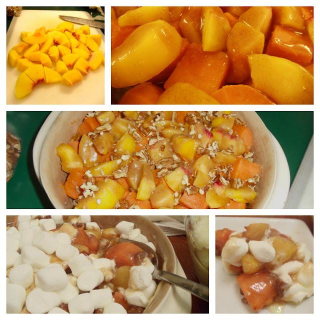 Peachy Keen Sweet Potato Casserole