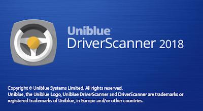uniblue driverscanner 2018 serial key