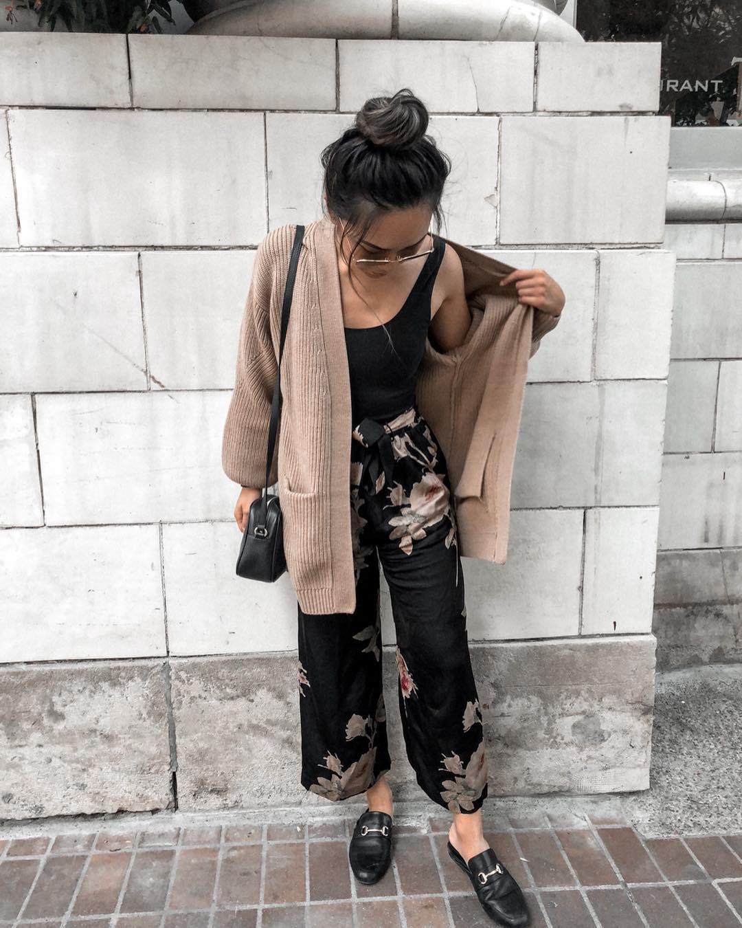 14 Pairs of Floral Pants for Fall