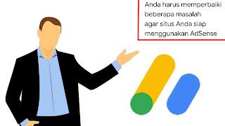Ini lho Penyebab Utama Blogspot Ditolak/Tidak Diterima Google AdSense