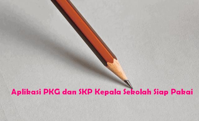 Aplikasi PKG dan SKP Kepala Sekolah Siap Pakai