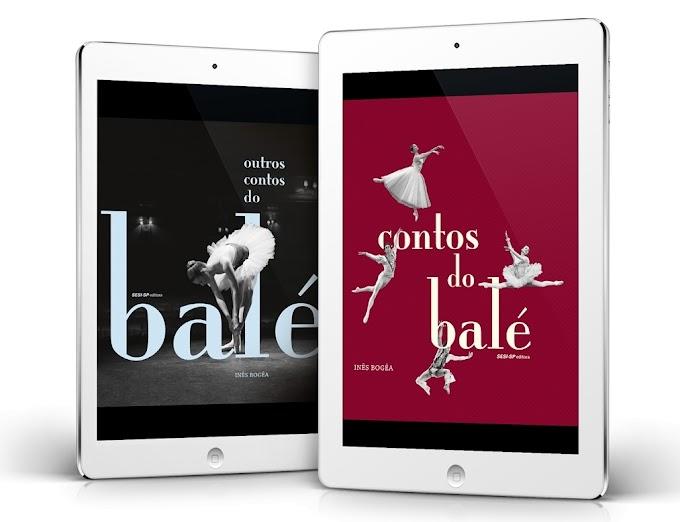 Obras da bailarina Inês Bogéa 'Contos do Balé' e 'Outros Contos do Balé' têm lançamento em e-book