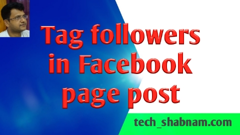 😃 How to tag Facebook page post/Tag Facebook business page post