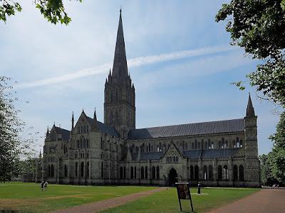 England salisbury kathedrale