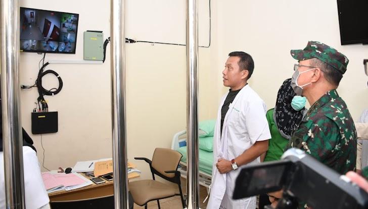 Pangdam Hasanuddin Sidak Rumah Sakit Pelamonia