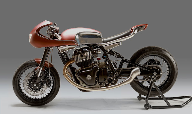 Royal Enfield Continental GT650 By Krom Works Hell Kustom