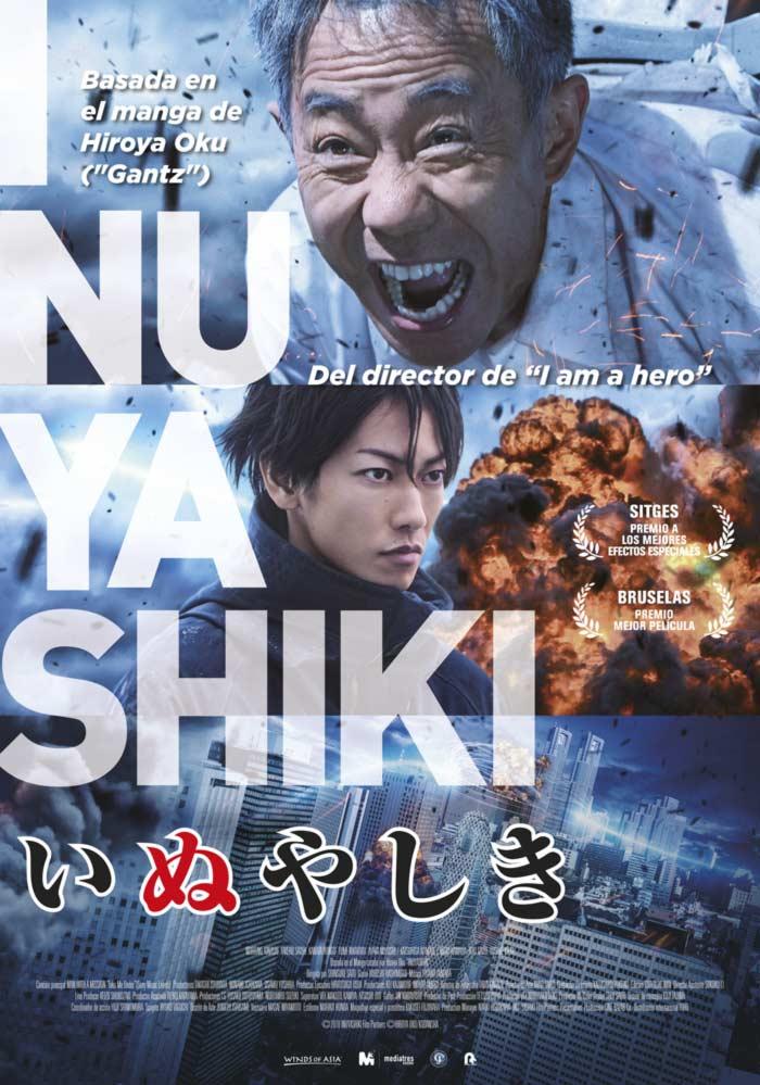Inuyashiki live-action - Mediatres Estudio