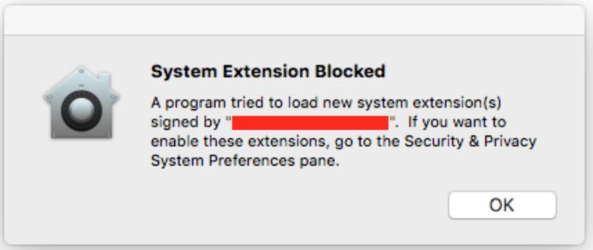 BRIGHT SPOT!: Walkthrough fix : System Extension Blocked on