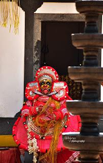 bhadrakali theyyam images 2