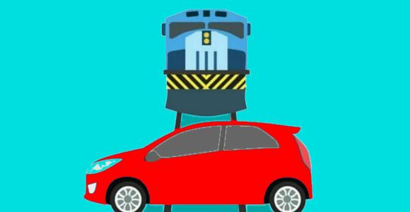 Penyebab kecelakaan di palang perlintasan kereta