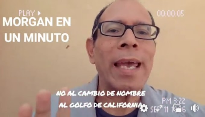 Contestan al diputado Hirepam Maya: ¡El nombre del Golfo de California se respeta!