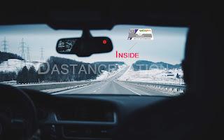 where to stick fastag sticker in car
