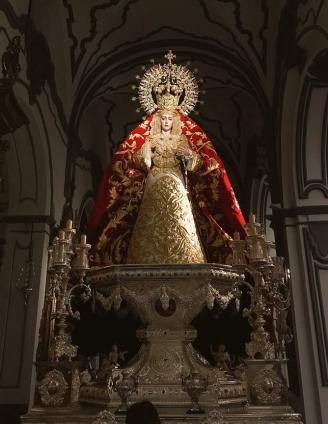 Horario e Itinerario Rosario vespertino de la Virgen de Lágrimas y Favores (Cofradías Fusionadas) hoy en Málaga