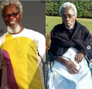 Photos of Sick Nollywood actor, Victor Olaotan in shock health condition.