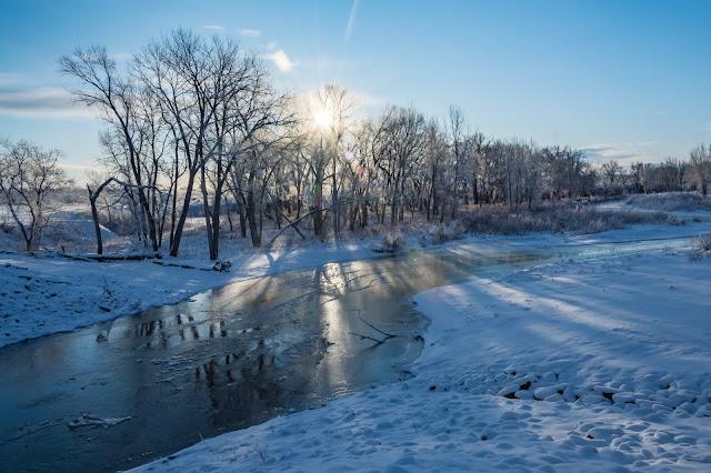 Winter Sunrise, Chatfield State Park