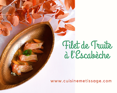 Filet de Truite Escabèche