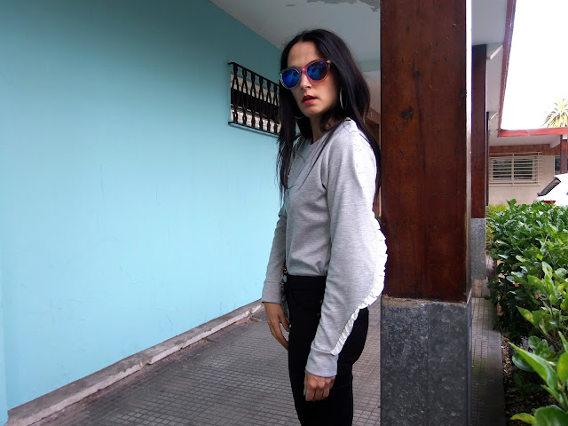 fashion, moda, look, outfit, street, style, estilo, blog, blogger, walking, penny, lane, cool, casual, trendy, chic, design, diseño, rock, sudadera, sweatshirt, minimal, basic, garment, cloth, ropa, bershka, pull, bear, marypaz, blanco, parfois