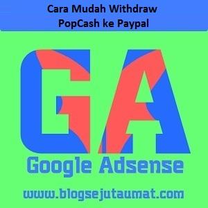 Cara withdraw ke paypal