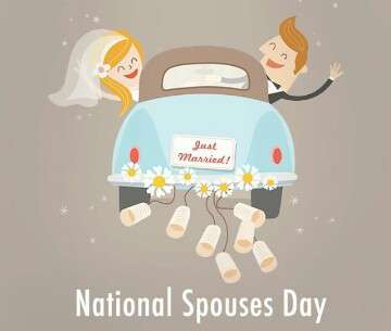 National Spouses Day Wishes