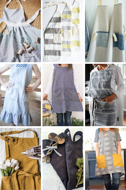 easy aprons to make